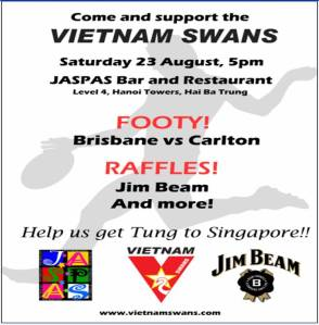 The Vietnam Swans fundraisers
