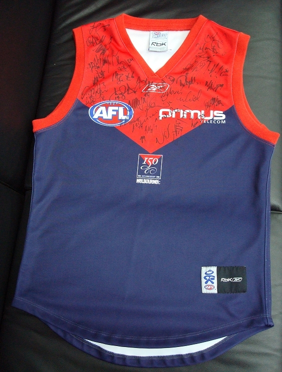 In Hanoi, teh Vietnam Swans will auction this Melbourne jumper