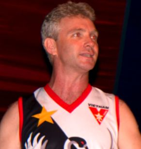 New AFL Asia President - Phil Johns.