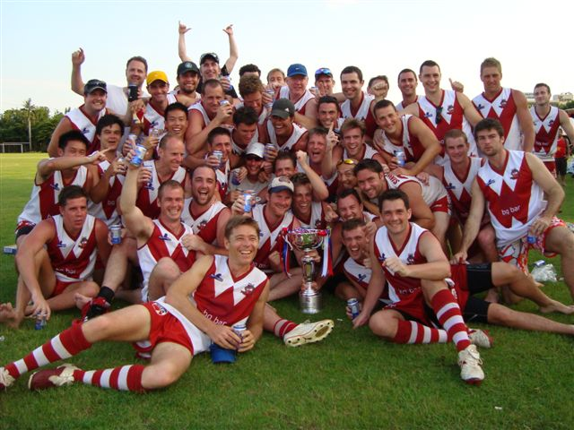 The Singapore Wombats celebrate their Asian Champs victory back in 2011, Bangkok. Which club will win the 2014 Asian Champs in Clark, Philippines, on 11 October?