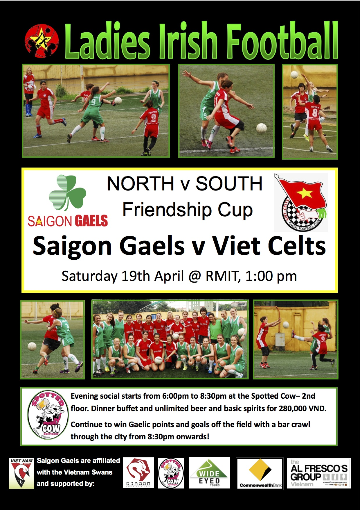 Sagion Girls to play Hanoi this weekend before training.