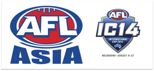 A Mega Awesome AFL Asia function is bound for Melbourne during the AFL's International Cup. Save and promote the date: 17 August 2014!