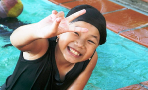 V for the Vietnam Swans. How good is it that we can help a smiling face like this.